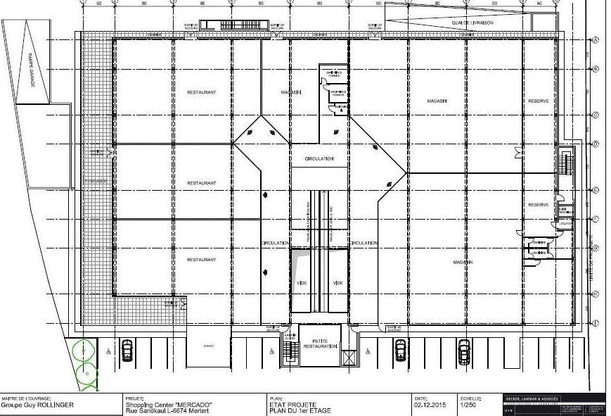 louer local commercial 0 chambre 1000 m² mertert photo 3