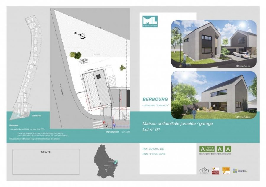 detached house for buy 4 bedrooms 170 m² berbourg photo 4