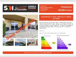 Appartement à vendre F3 à Plobsheim - Réf. 5619554