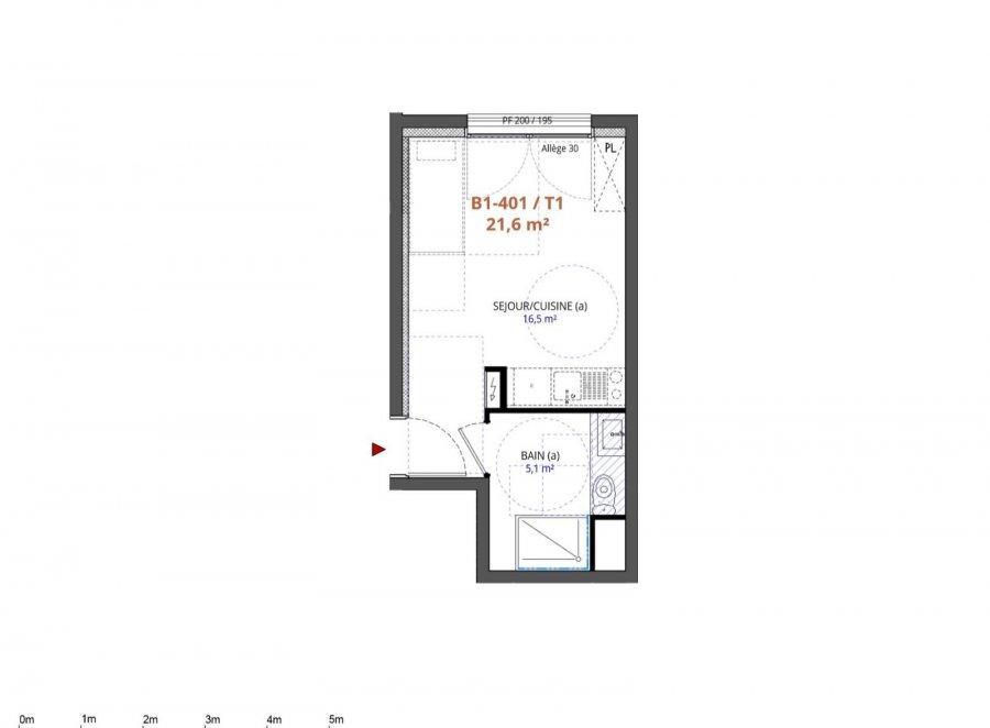 Appartement à vendre F1 à Metz-Queuleu