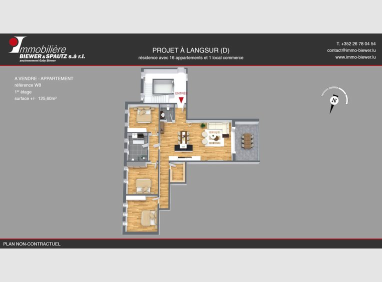 Wohnung zum Kauf 3 Zimmer in Langsur (DE) - Ref. 6678898