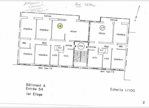 plan appartement f6