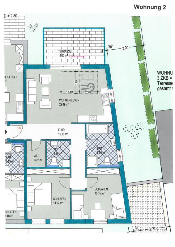 acheter appartement 3 pièces 94.85 m² konz photo 1