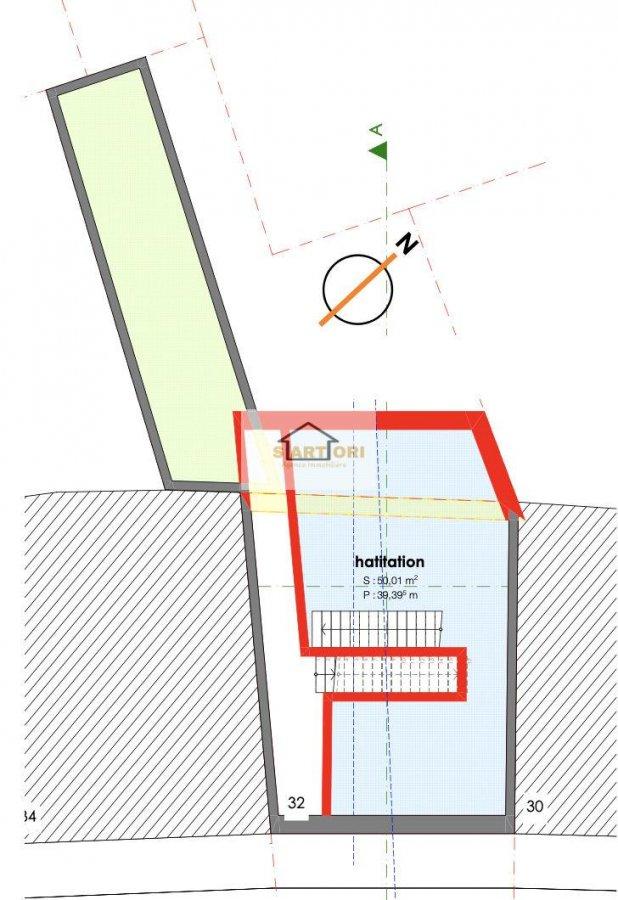 Terrain non constructible à vendre à Differdange