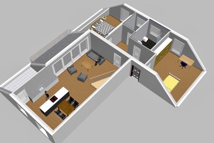 penthouse-wohnung kaufen 4 zimmer 154.5 m² perl foto 1