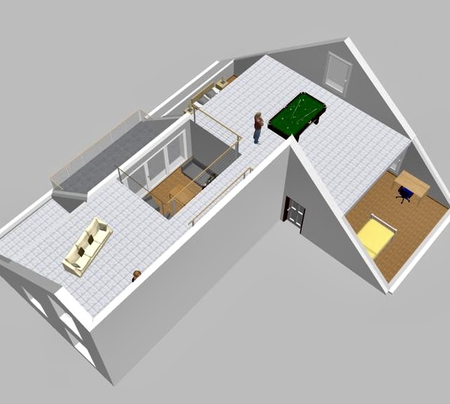 penthouse-wohnung kaufen 4 zimmer 154.5 m² perl foto 2