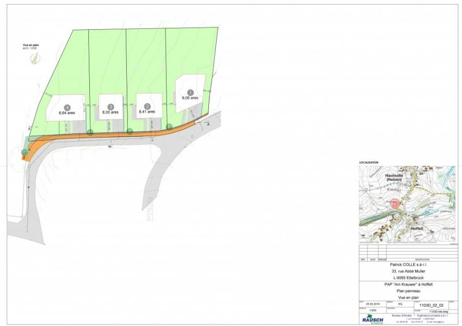 acheter terrain constructible 0 chambre 841 m² hoffelt photo 3