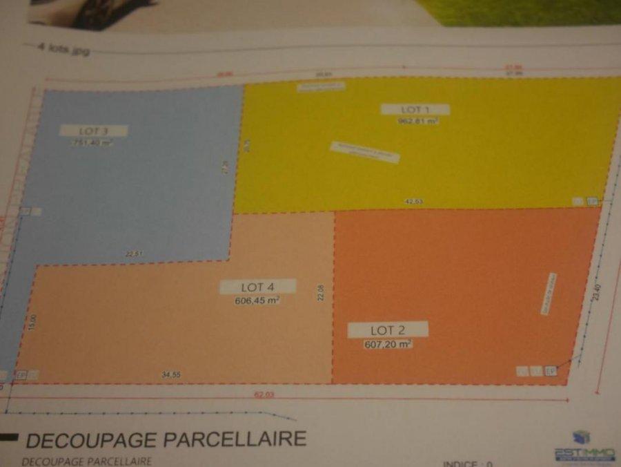 Terrain constructible à vendre à Augny
