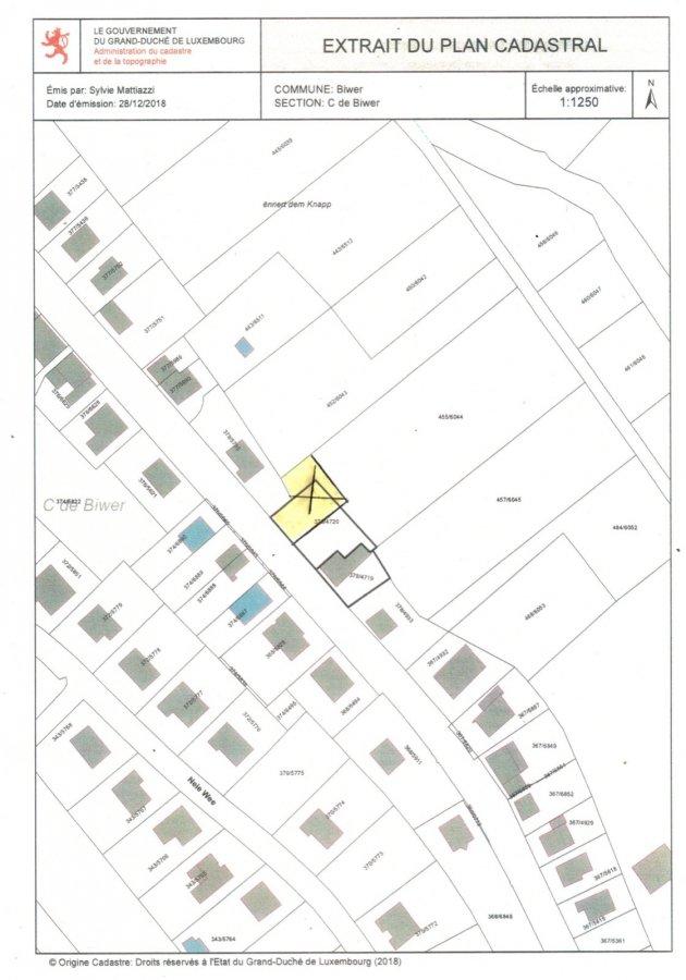 Terrain constructible à vendre à Biwer