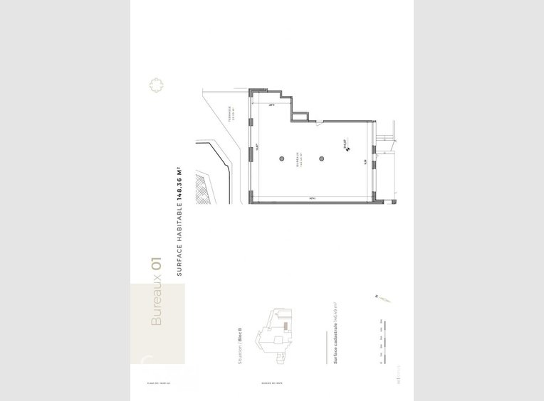 Bureau à vendre à Differdange - Réf. 6093954