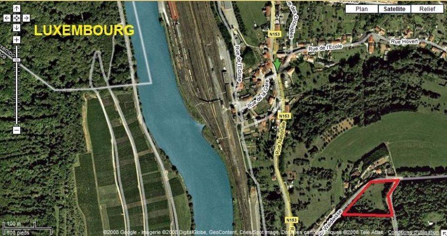 Terrain constructible à vendre à Apach