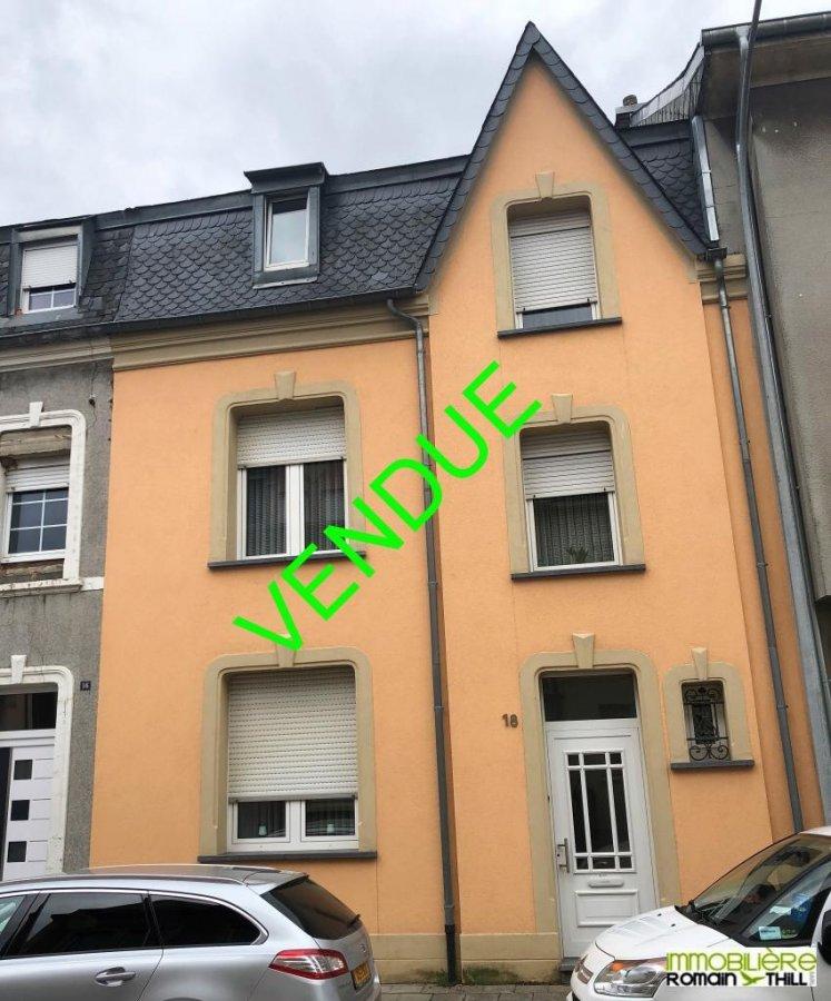 acheter maison mitoyenne 4 chambres 145 m² pétange photo 1