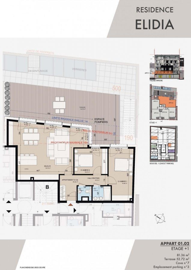 acheter appartement 2 chambres 99.15 m² luxembourg photo 2