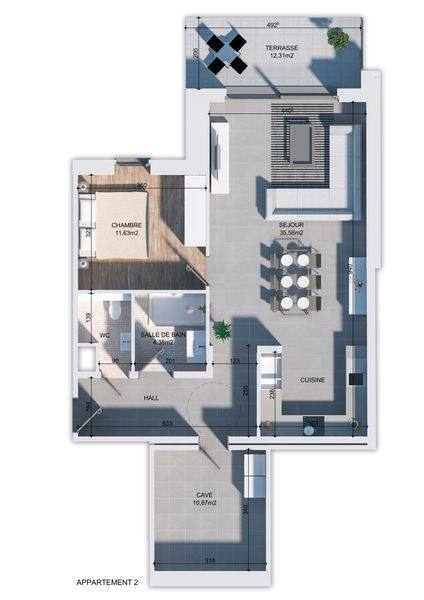 apartment for buy 0 room 88 m² huy photo 3