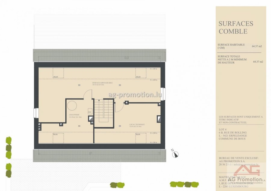 detached house for buy 5 bedrooms 311.78 m² erpeldange (bous) photo 4