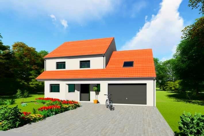 Maison individuelle à vendre F6 à Léning