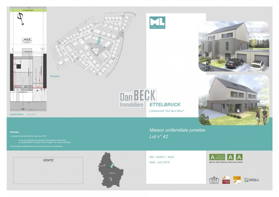 acheter maison 3 chambres 148 m² ettelbruck photo 2