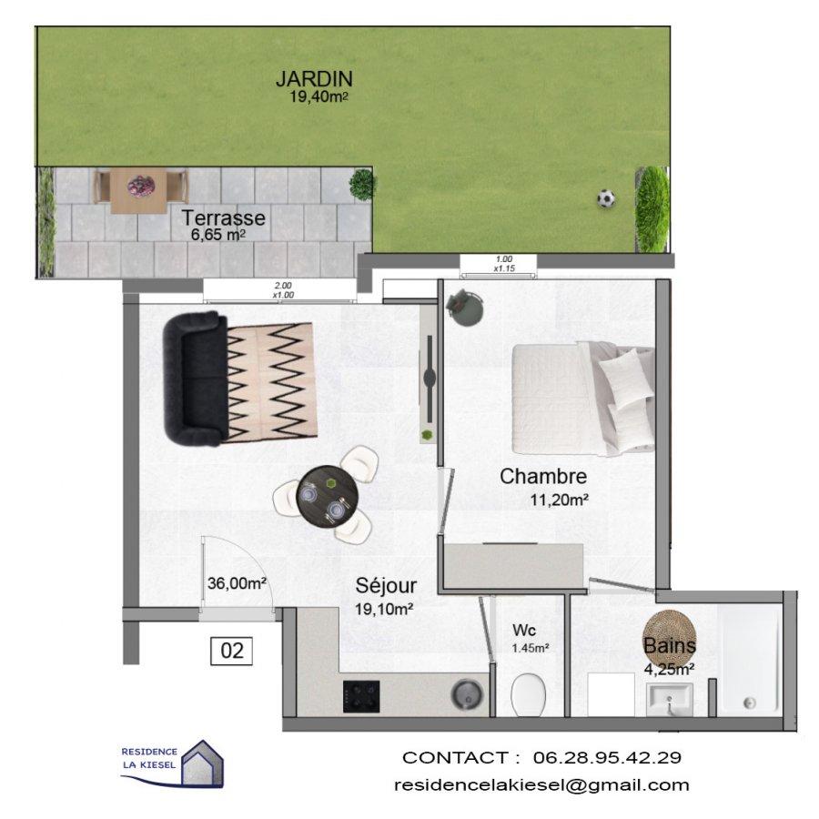 acheter appartement 2 pièces 36 m² hettange-grande photo 1