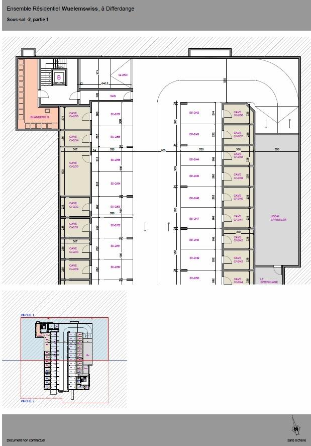 wohnung kaufen 2 schlafzimmer 81.92 m² differdange foto 4