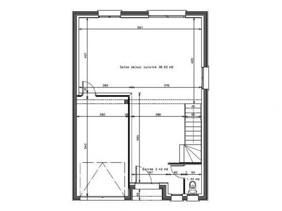 acheter maison 5 pièces 101 m² courcelles-chaussy photo 2