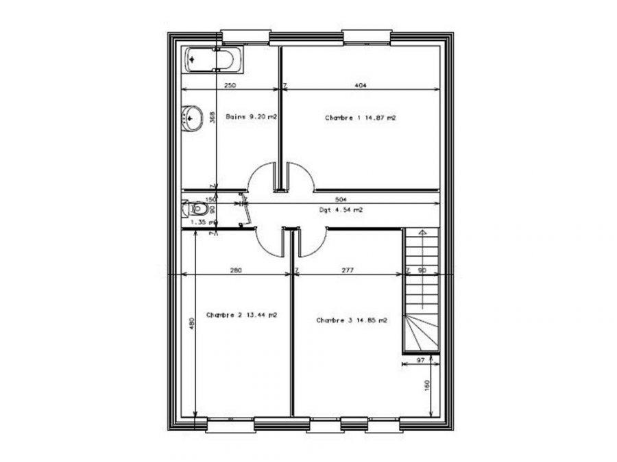 acheter maison 5 pièces 101 m² courcelles-chaussy photo 3
