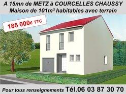 Maison à vendre F5 à Courcelles-Chaussy - Réf. 6092706