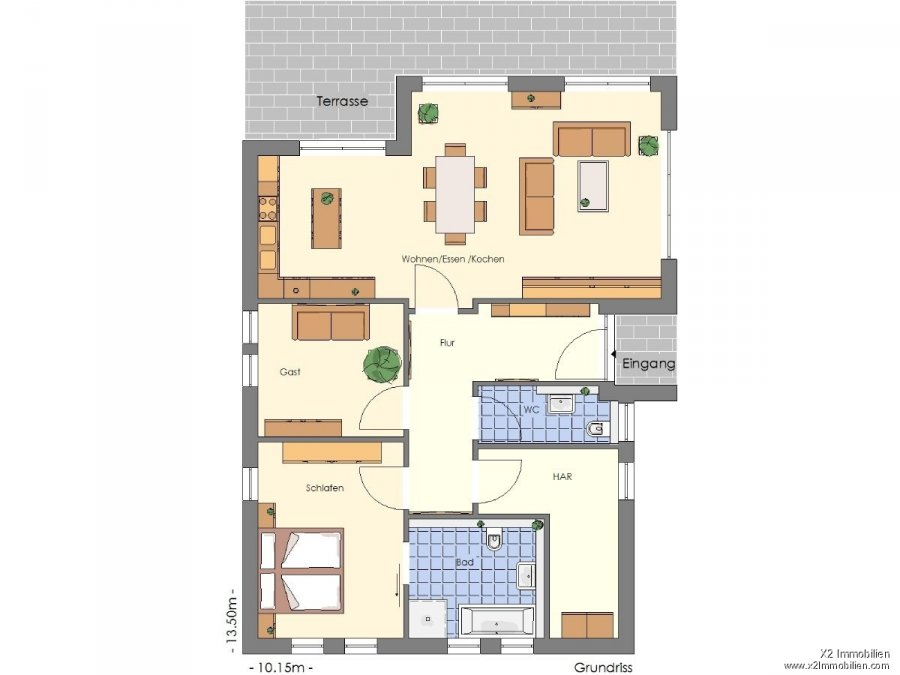 house for buy 3 rooms 100 m² langsur photo 3