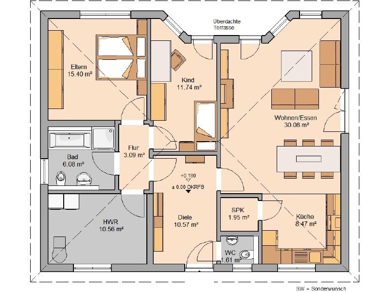 acheter maison 3 pièces 100 m² mandern photo 3