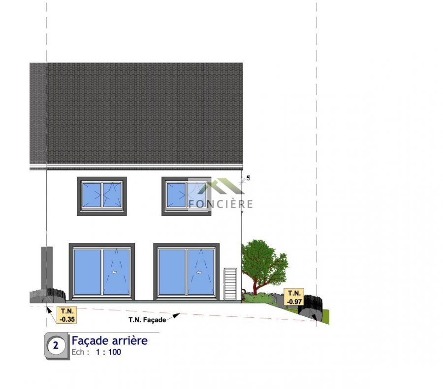 acheter maison jumelée 4 chambres 161.83 m² haller photo 4