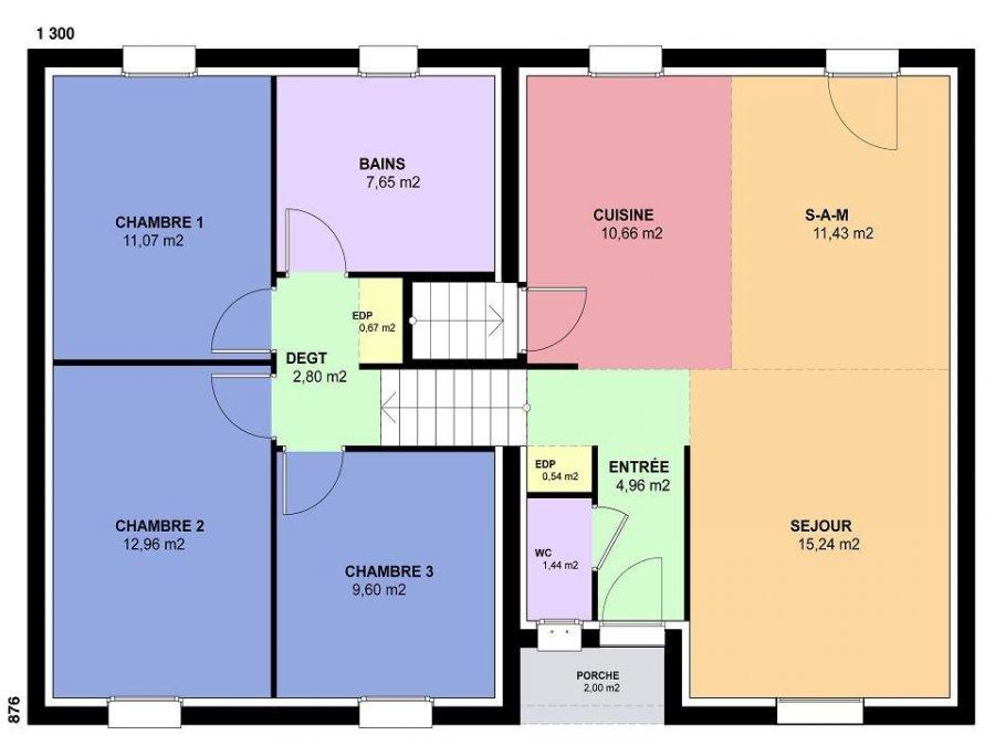 acheter maison 5 pièces 89 m² courcelles-chaussy photo 4