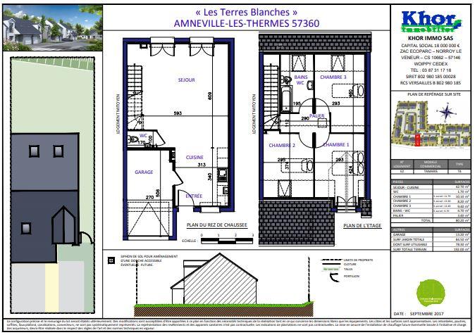 acheter maison 4 pièces 80 m² amnéville photo 2