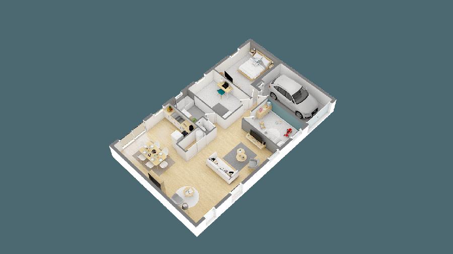 acheter maison 6 pièces 86 m² pontchâteau photo 2