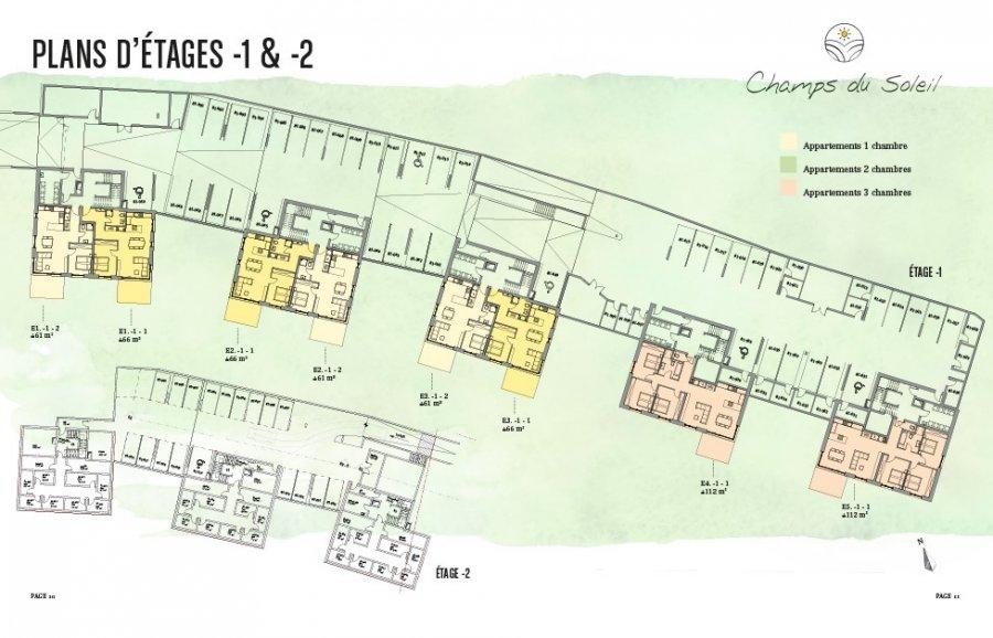 acheter appartement 2 chambres 111.57 m² steinfort photo 4