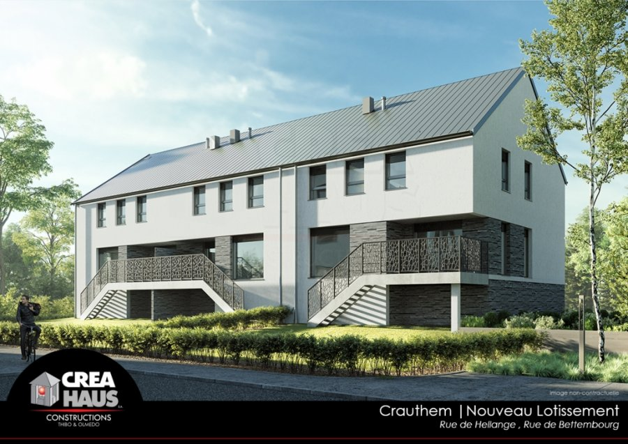 acheter maison mitoyenne 3 chambres 153 m² crauthem photo 3