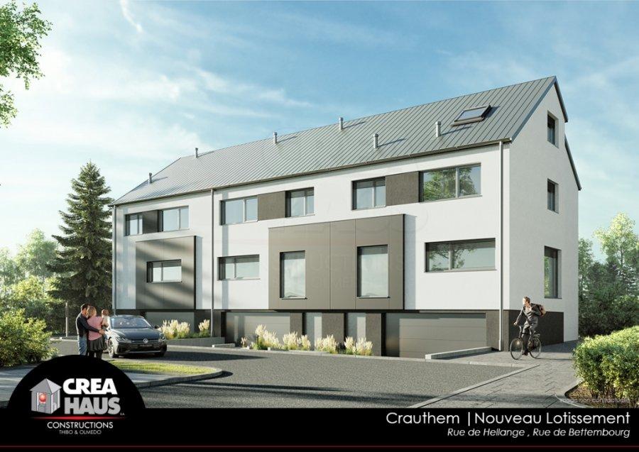 acheter maison mitoyenne 3 chambres 153 m² crauthem photo 2