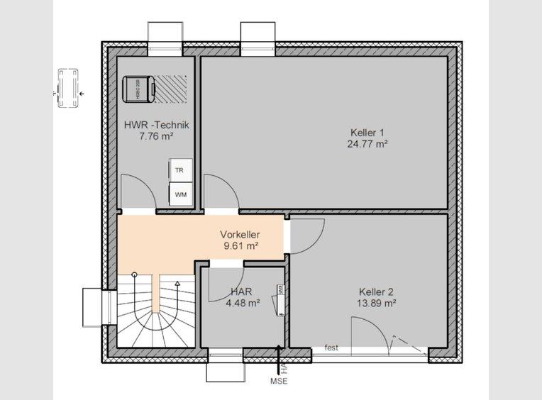 Maison à vendre 3 Pièces à Zemmer (DE) - Réf. 7090866