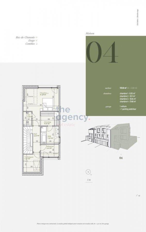 acheter maison 4 chambres 169.42 m² mondercange photo 4