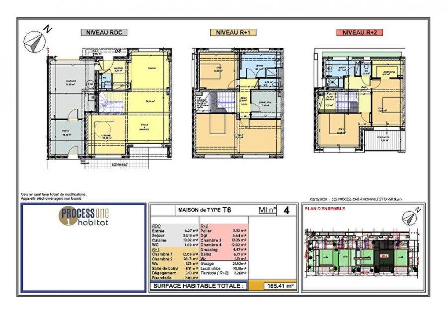 acheter maison 7 pièces 169.05 m² thionville photo 1