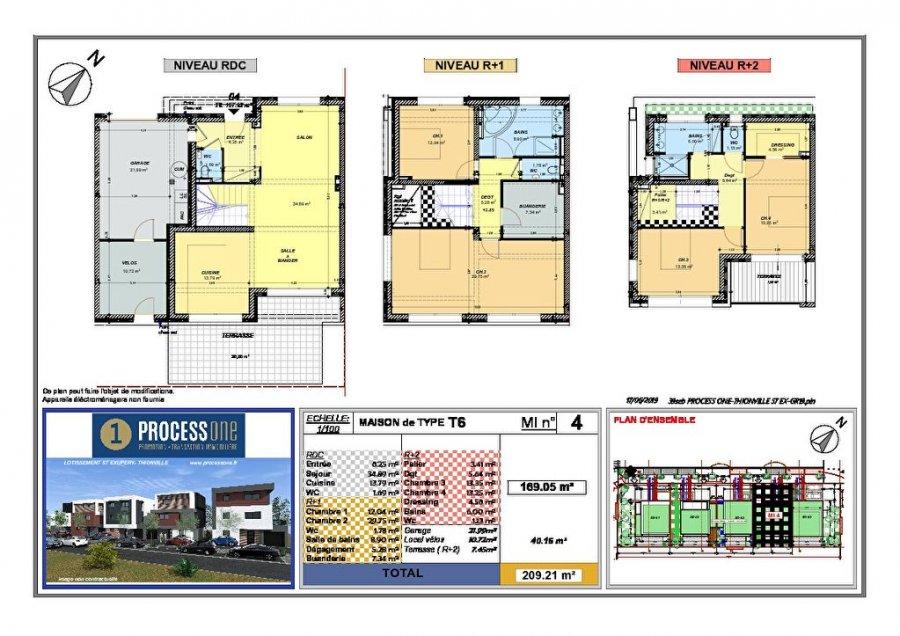 haus kaufen 7 zimmer 169.05 m² thionville foto 1
