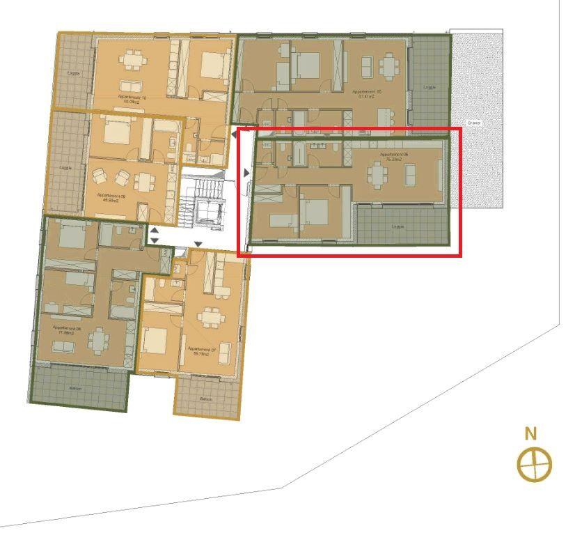 acheter appartement 2 chambres 76.89 m² alzingen photo 3