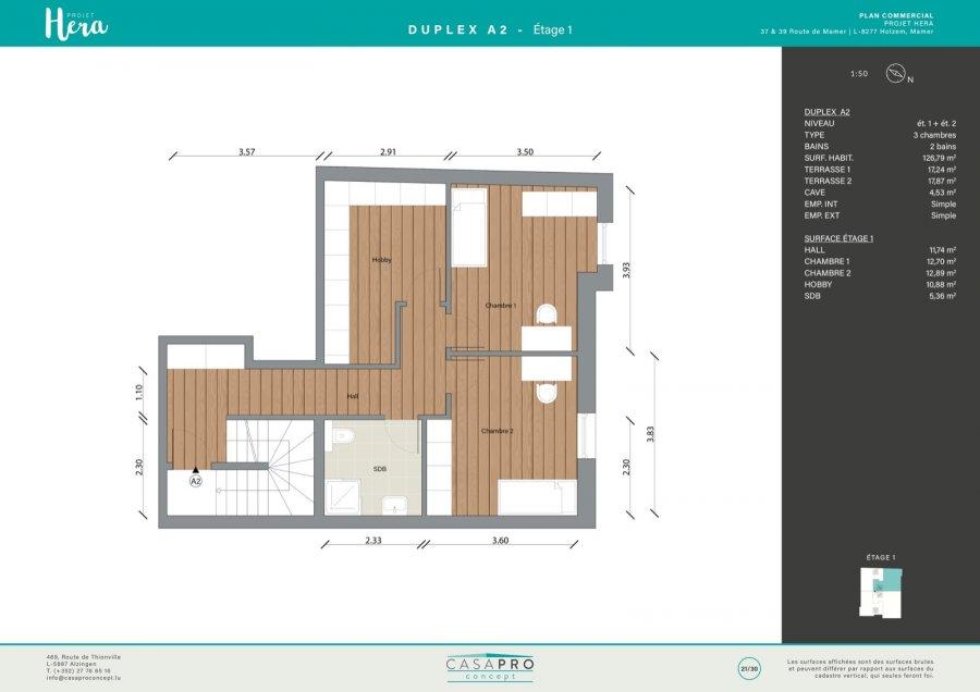 acheter duplex 4 chambres 126 m² holzem photo 7