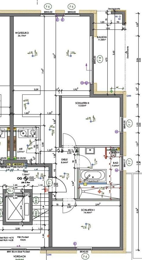 louer appartement 3 pièces 89.58 m² saarlouis photo 3