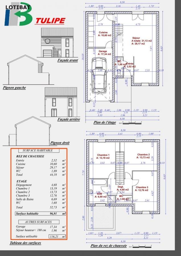 acheter maison individuelle 6 pièces 96 m² dornot photo 3
