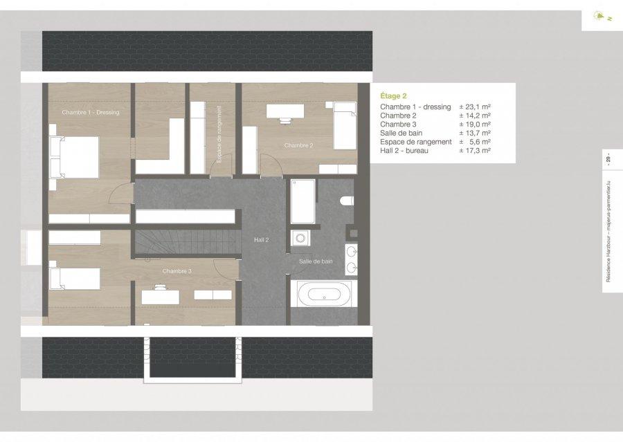 acheter duplex 3 chambres 154.87 m² roodt (redange) photo 6