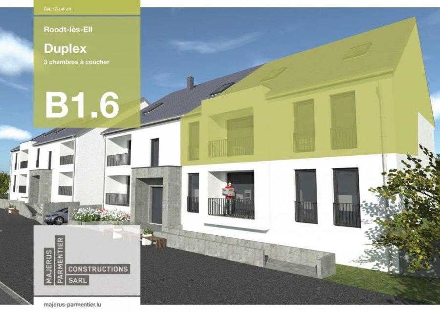 acheter duplex 3 chambres 154.87 m² roodt (redange) photo 1