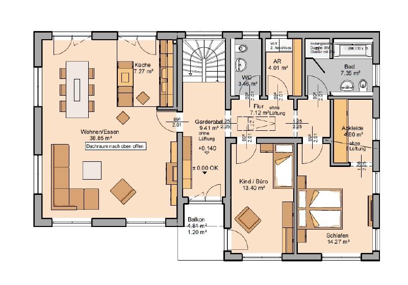 haus kaufen 5 zimmer 187 m² schillingen foto 4
