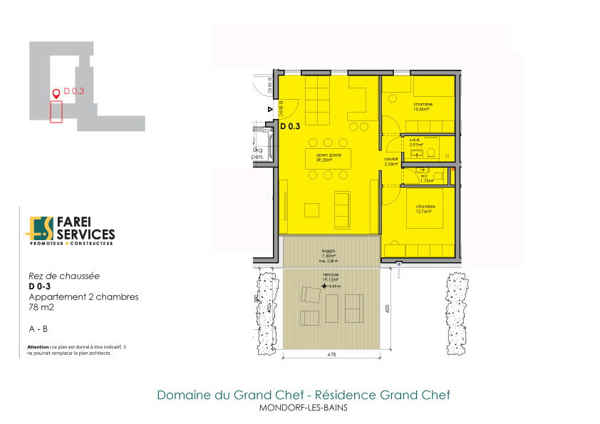 apartment for buy 2 bedrooms 78 m² mondorf-les-bains photo 2