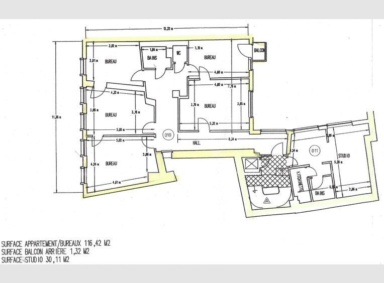 Bureau à vendre 10 Chambres à Luxembourg (LU) - Réf. 7198146