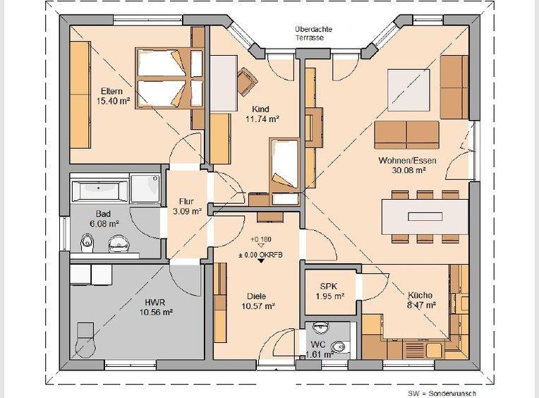 Maison à vendre 3 Pièces à Zemmer (DE) - Réf. 7137762