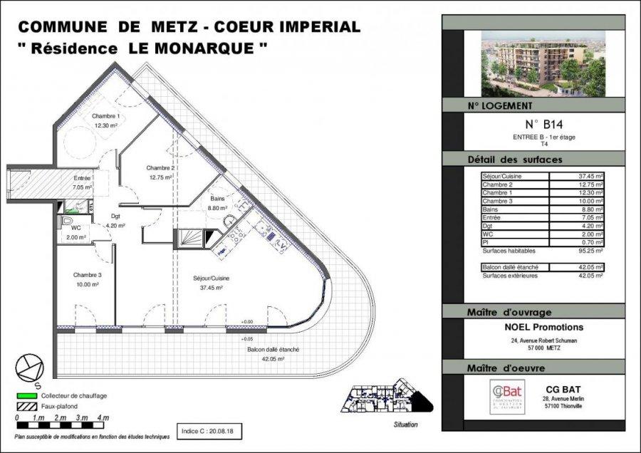 acheter appartement 5 pièces 95 m² metz photo 1